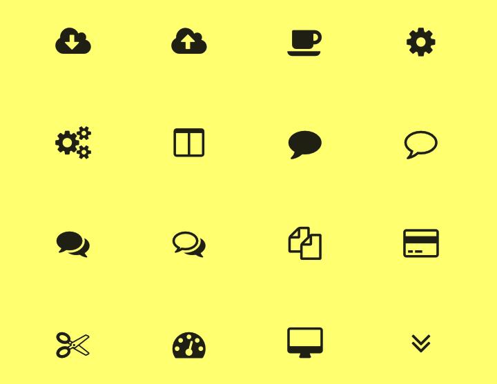 アイコンフォントを気軽に実装出来るサービス「We Love Icon Fonts」