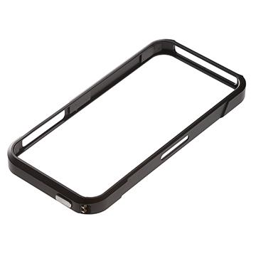 au+1collectionのiPhone5・5s用のアルミバンパーフォトレビュー