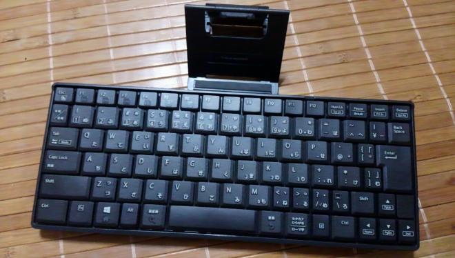 コンパクトで打ちやすいBluetoothキーボード「ELECOM 9nove TK-FBP069BK」フォトレビュー
