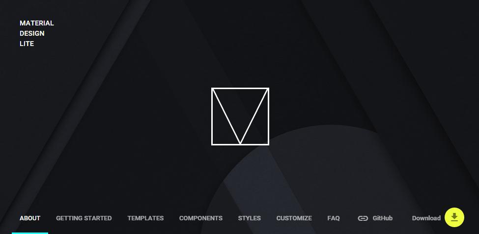 マテリアルデザインをWEBで再現できるコンポーネント「Material Design Lite」を試してみる