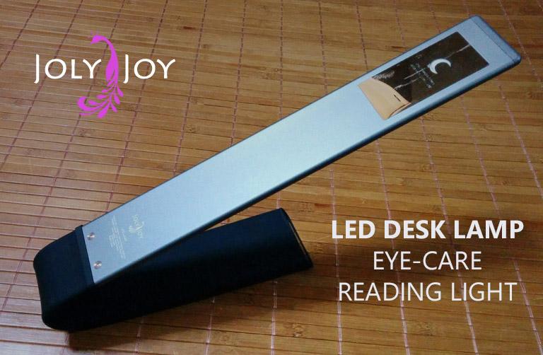 コードレスでスタイリッシュなLEDランプ「Joly Joy LEDデスクライト」レビュー