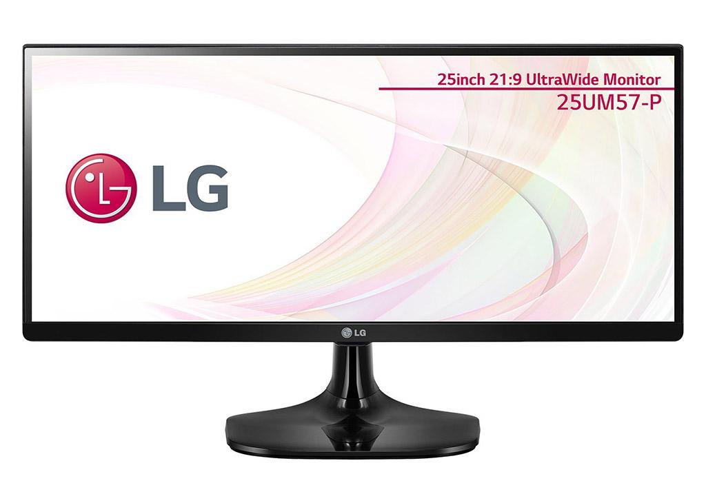 LG製の25型ウルトラワイドディスプレイ(2,560×1,080)の25UM57-Pがタイムセールで2万切り!定価25,800円が27%オフの18,890円で販売中