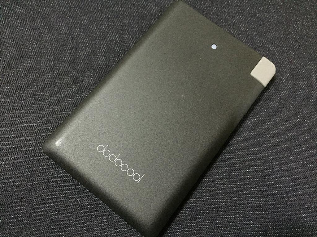 カード型のコンパクトなモバイルバッテリー「dodocool PowerBank 2500mAh」レビュー