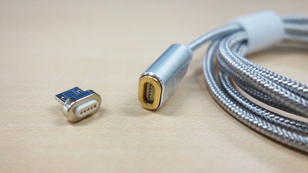 充電ケーブルの付け外しを楽にする「dodocool Micro USBマグネット充電ケーブル DA125」レビュー