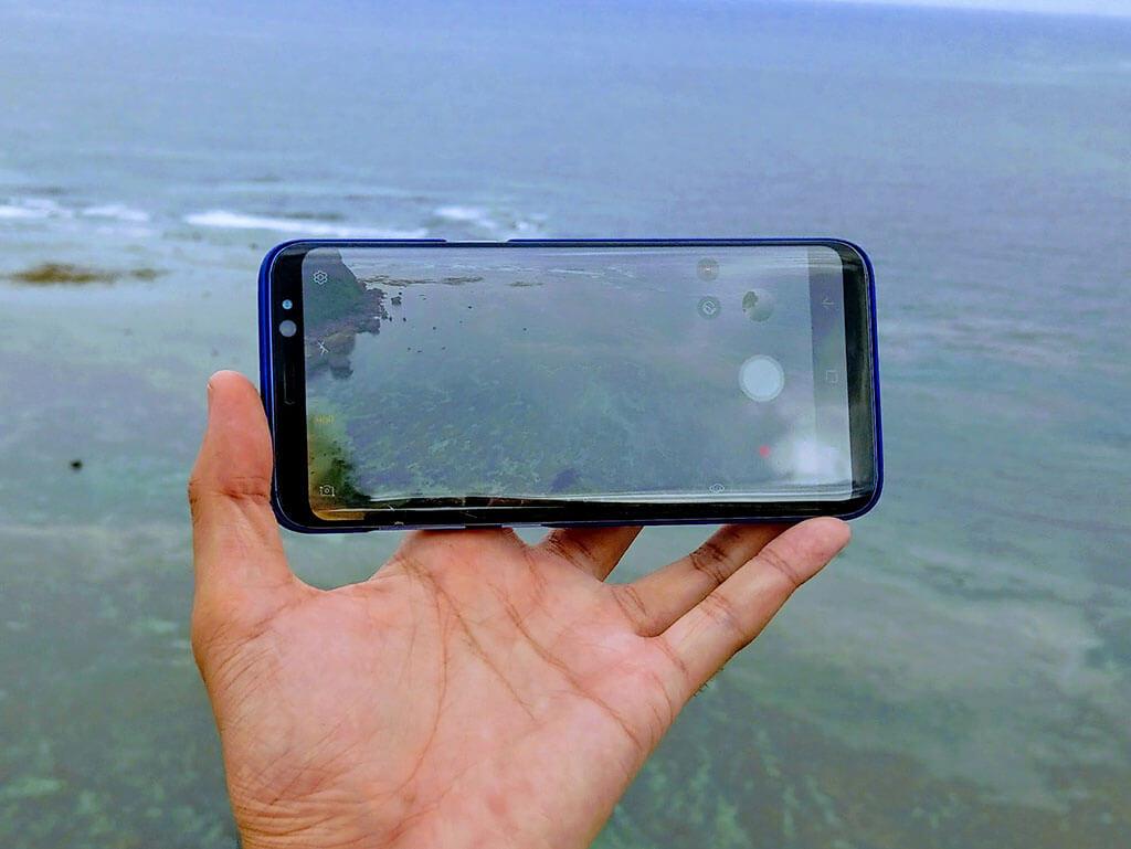 Galaxy S8 SC-02Jのカメラ性能をチェック。明るく色鮮やかに映る補正はSNS向け?