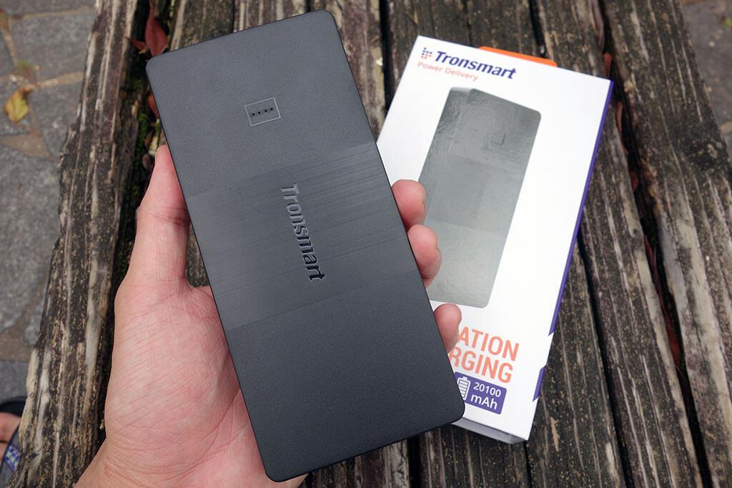 USB PD対応で軽量コンパクトなモバイルバッテリー「Tronsmart Brio 20100mAh」レビュー