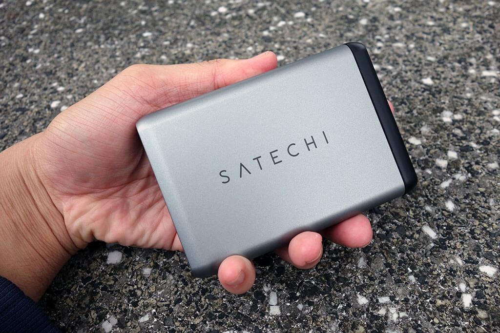 """ちょっと高いけどめっちゃいい。「Satechi  Type-C 75Wトラベルチャージャー ST-MCTCAM」レビュー。USB PD 60WとQC3.0対応の""""最強""""充電器"""
