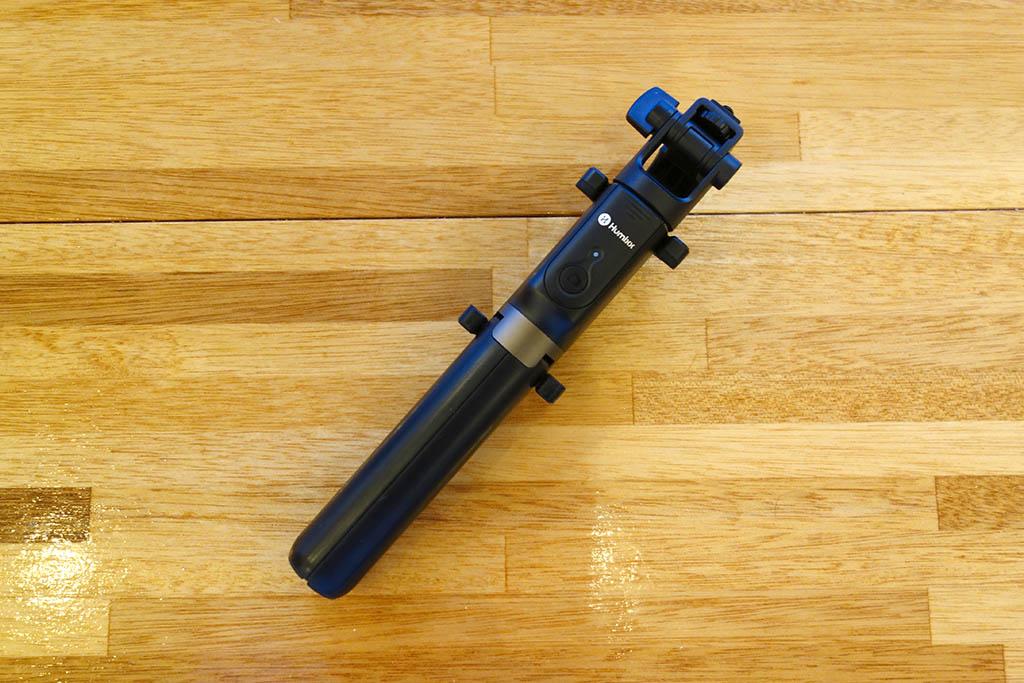 カメラ三脚にもなるHumixxの自撮り棒「TRIPOD SELFIE STICK」レビュー。軽量コンパクトで旅行にも最適!