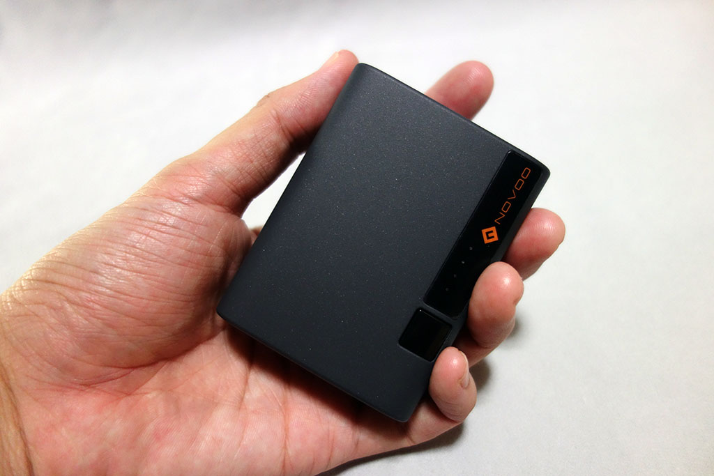 「Novoo PowerCube 10,000mAh」レビュー。USB PD 18W出力対応で軽量コンパクトなモバイルバッテリーがとてもよい