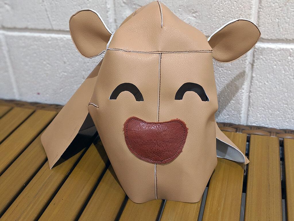イベント登壇用に鹿のマスクをリニューアルしました