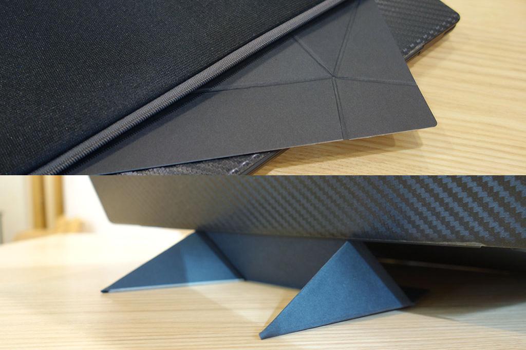 紙製のノートPCスタンド「フォルダブルECO」レビュー。薄型・軽量で持ち運びに便利!