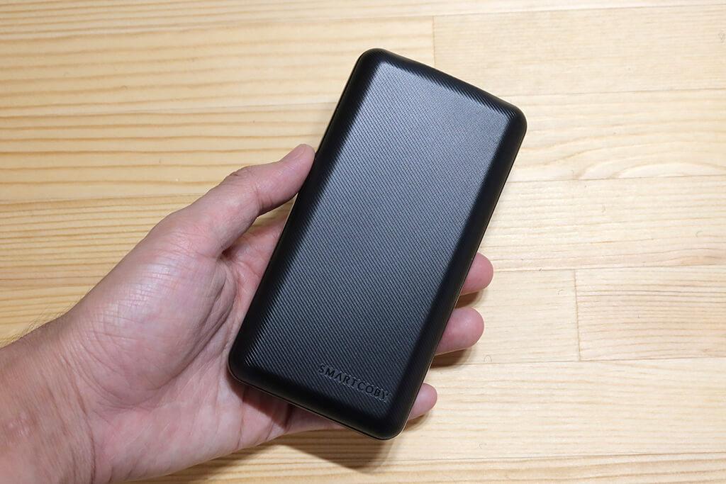 60Wの入出力に対応したスマホサイズのモバイルバッテリー「CIO SMARTCOBY 20,000mAh」レビュー