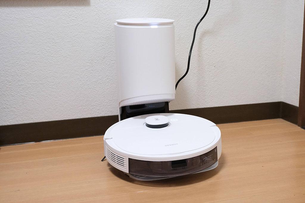 自動ゴミ収集・水拭き・マッピング対応の全部入りロボット掃除機「ECOVACS DEEBOT N8+」レビュー
